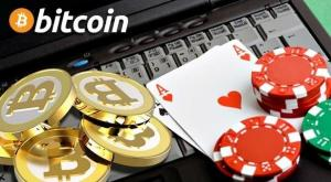 laptop cards chips casino bitcoin